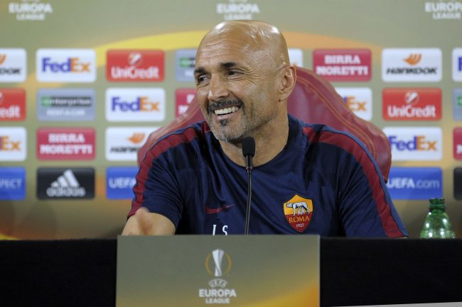 SPALLETTI in conferenza stampa di Europa League
